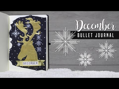 Bullet Journal [MAGYAR] 2017 December DIY