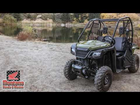 Tackle the Tough Jobs with 2020 Honda® Pioneer 500 UTV For Sale In Billings, MT