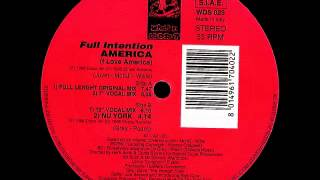 Full Intention - America [7 Vocal Mix]