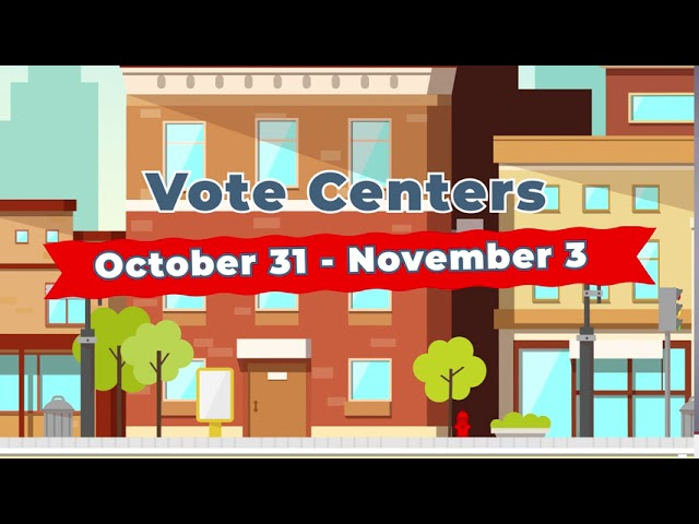 Be Heard By November 3rd!