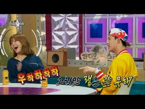 【TVPP】 Jimin(AOA),Jooheon(MONSTA X)-Dis Rap Battle, 지민(AOA),주헌(몬스타엑스)-디스랩 배틀@ Radio Star