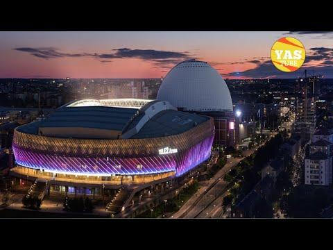 Tele2 Arena, SkyView Ericsson Globe Stockholm, Sweden #skyView #sverige #Tele2Arena