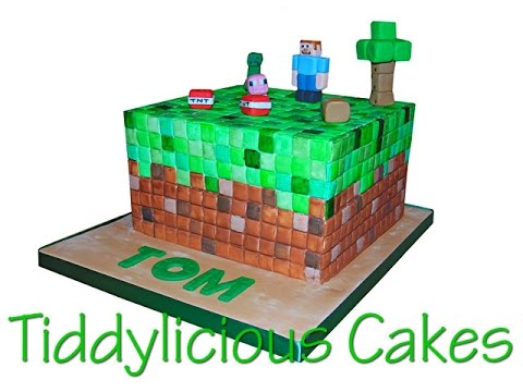 Minecraft Cake Toppers Part Three Youtube