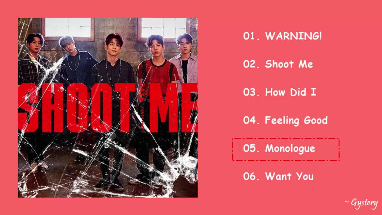 DAY6 - SHOOT ME: YOUTH PART 1 Full Album [3rd Mini Album