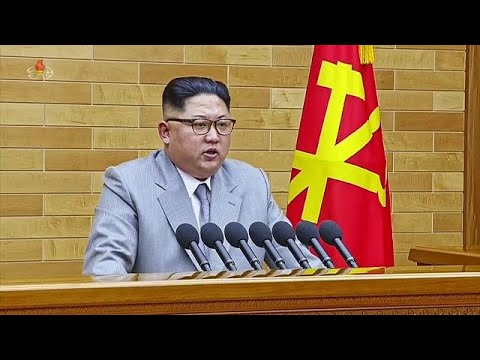 Kim Jong Un warns Unted States: 'I have a nuclear button on my desk'
