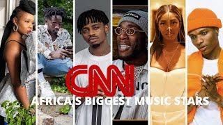 Diamond Platnumz ajumuishwa kwenye orodha ya 'Africa's biggest music stars' ya CNN!