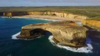 Great Ocean Road by drone