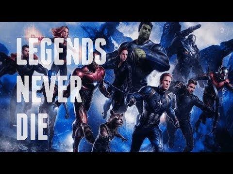 Marvel - Legends Never Die