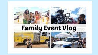 🚜🚛ハワイ ファミリーイベント🚌🚗【Family Event in Hawaii】国際カップル|海外育児|ビログ