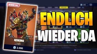 ENDLICH WIEDER DA Wukong Skin 🎌🐵 Fortnite Shop Heute 27.3 | Item Shop 27.03