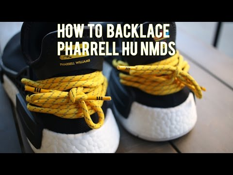 How To BACKLACE Pharrell Human Race NMDs [ANY COLORWAY]