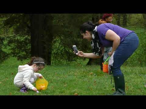 Rain Can't Stop The Great Egg Hunt At Cadwalader Park In Trenton