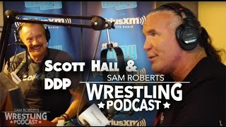Scott Hall & DDP - NXT, Alcoholism, Triple H, HBK, etc - Sam Roberts