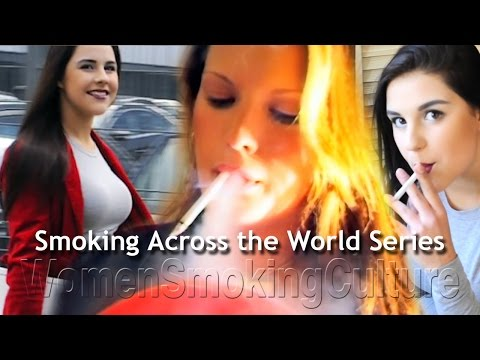 Women Smoking Across The World - New Series Video Shows