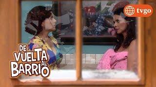¡Malena le confiesa a Fanny que son hermanas! - De Vuelta al Barrio 26/12/2018