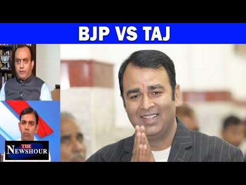 BJP MLA Sangeet Som Uses The Taj Mahal To Sow Seeds Of Hate | The Newshour Debate (16th Oct)