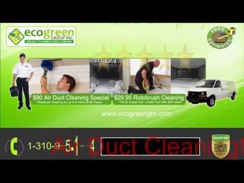 Air Duct Cleaning Los Angeles, CA | Company Service - Eco Green