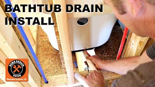 Bathtub Drain Kit Installation (Step-by-Step)
