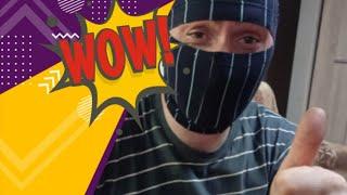 маска от коронавируса из семейных трусов)))))