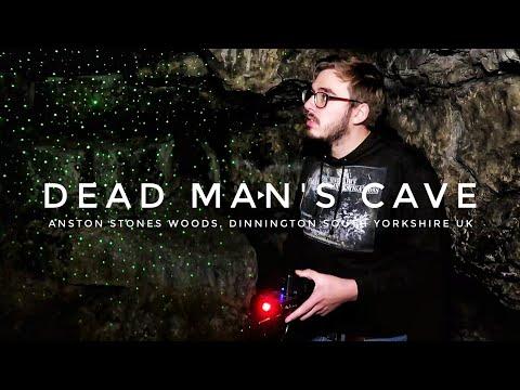 DEAD MAN'S CAVE | Anston Stones Wood | Dinnington UK | Phil Sinclair's Paranormal Investigations