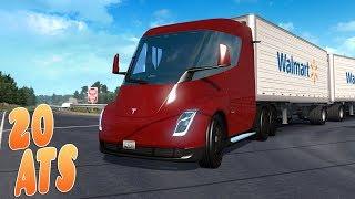 Новый TESLA SEMI - American Truck Simulator Обзор нового грузовика Тесла Семи