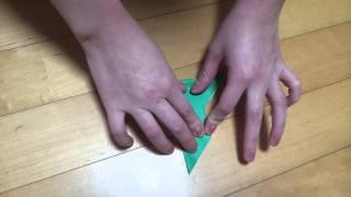 새접기 (비둘기) - Origami Bird (dove)