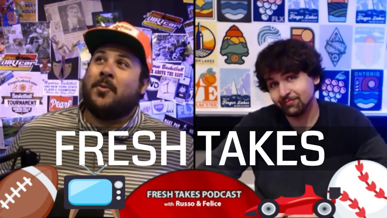 FRESH TAKES – WATCH LIVE NOW: Glen race weekend recap, NFL holdouts, & this summer's version of Big Brother (podcast)