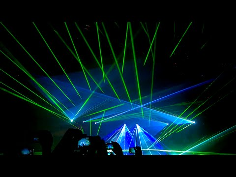 Laser Show Patrick Miller Junio 2015 CCT Especial de TECHNO 90'S.