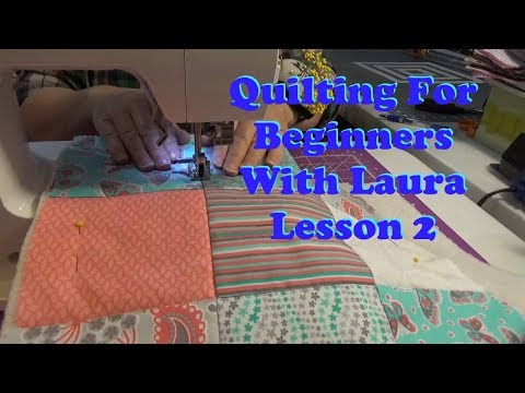 How To Use Pre-cut Fabrics For The Beginning Quilter - Lesson 2