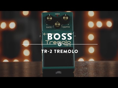 Boss TR-2 Tremolo   Reverb Demo Video
