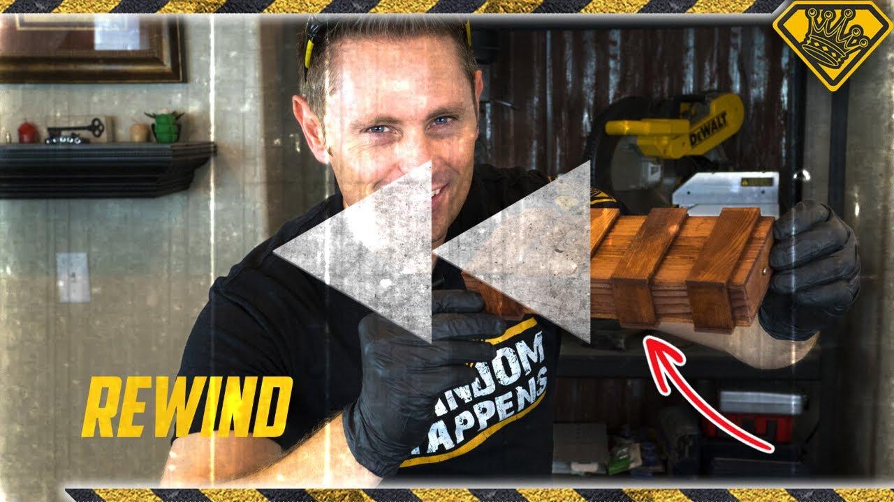 Mystery Puzzle Box & Gum Wrapper Fire Starters | Rewind #9