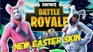 Fortnite New Easter Rabbit Raider Skin #YTBattleRoyale Day 20