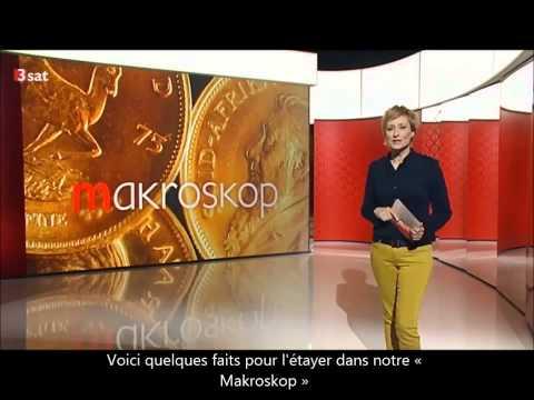 Manipulation de l'or : reportage de la TV allemande 3sat