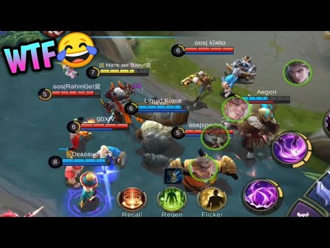 The Funniest Game Ever In Ranked | Mobile Legends : Bang Bang