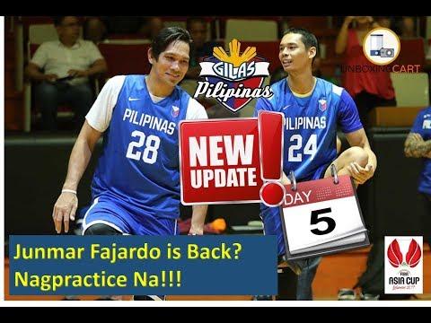 Gilas Update! Day 5 in Fiba Asia Cup Junmar Fajardo is Back?