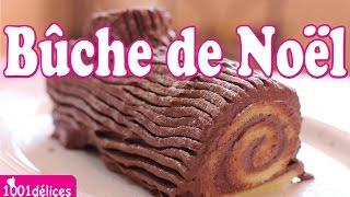 Recette de bûche de Noël au chocolat - 1001 délices