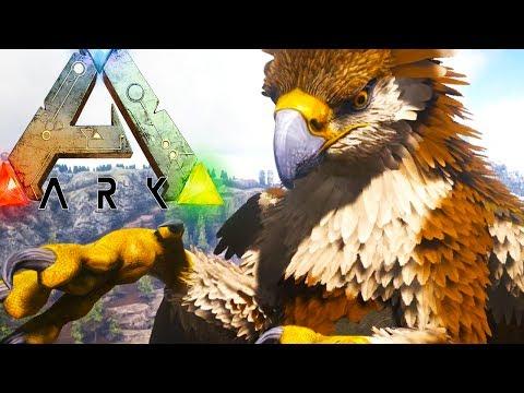PLAY AS GRIFFIN,  RAGNAROK ARK STREAM - Ark Survival Evolved