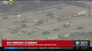 405 Freeway Closed Due To Reported Stabbing
