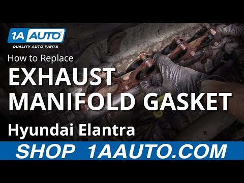 How to Replace Exhaust Manifold Gasket 07-10 Hyundai Elantra