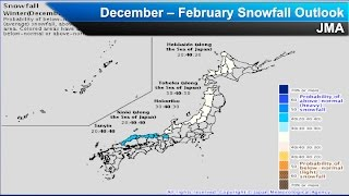Japan Winter Weather Outlook 2016 2017