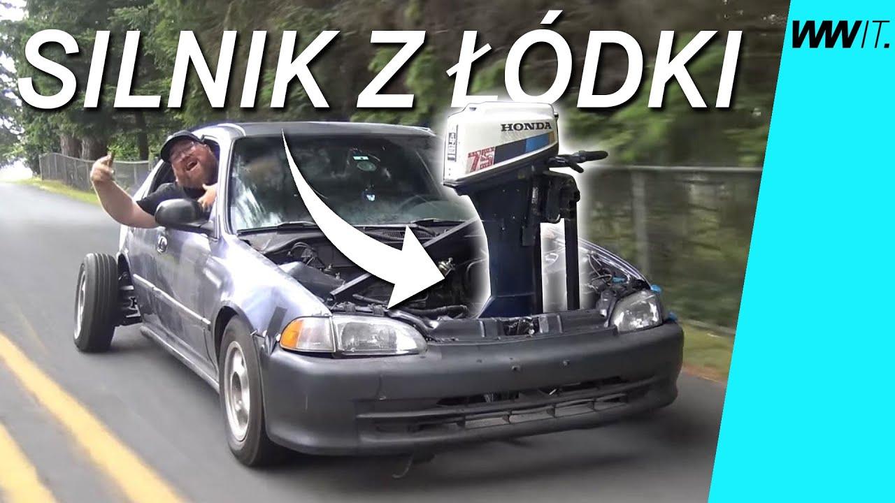 Silnik zaburtowy w Civicu! - 10 Najbardziej szalonych swapów silnika