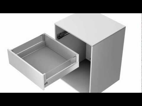 arcitech schubkastensystem bau montage und verstellun doovi. Black Bedroom Furniture Sets. Home Design Ideas
