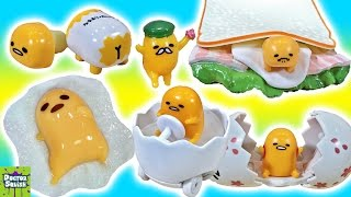Big Gudetama Show! Blind Boxes Surprise Egg Toys & Pudding Kit! Doctor Squish