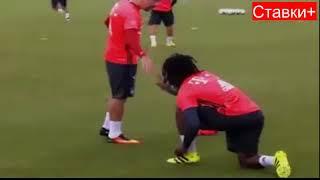 Лучшие приветствия и рукопожатия футболистов