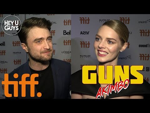 Guns Akimbo TIFF Premiere: Daniel Radcliffe, Samara Weaving & More On Their Bizarre New Film