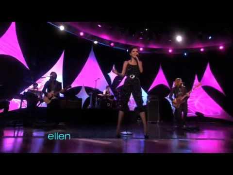 Selena Gomez & The Scene-A Year Without Rain-live@ Ellen(09/22/10)