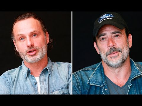 Andrew Lincoln & Jeffery Dean Morgan on Men Changed By Their Environment in The Walking Dead