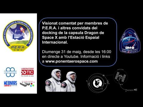 Resumen de vídeos del lanzamiento de la cápsula Dragon hacia la ISS, Demo 2