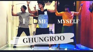GHUNGROO - Dance Cover | Quarantine Dance With Myself😃  | WAR | VinDeep Choreography