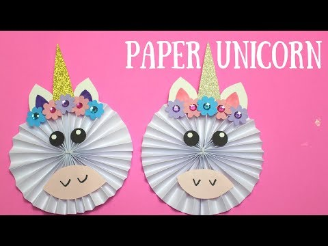 How to Make a Paper Unicorn | Paper Crafts for Kids
